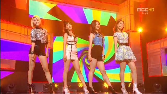 New Girl Group Nep Makes Their Debut Performance on Inkigayo
