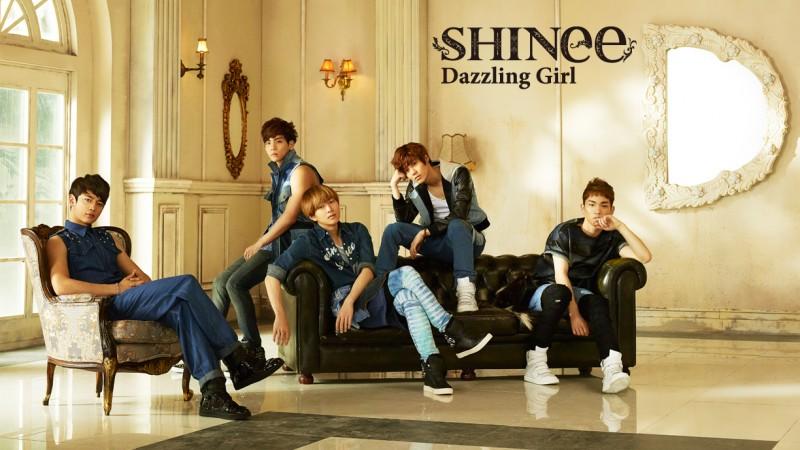 "SHINee Unveils Short Version of ""Dazzling Girl"" MV"