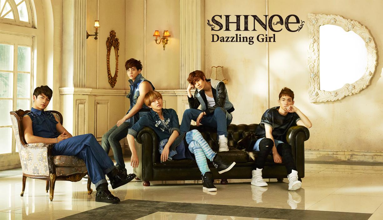 """SHINee Releases MV Teaser for Upcoming Japanese Single """"Dazzling Girl"""""""