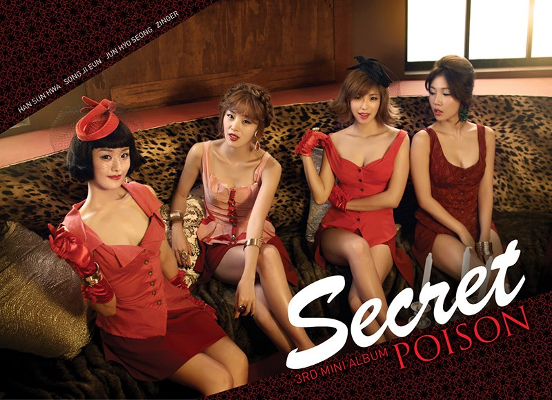 """Secret Performs """"Poison"""" and """"Calling You"""" for Inkigayo Comeback Stage"""