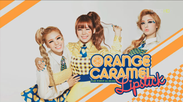 "Orange Caramel Performs ""Milkshake"" and ""Lipstick"" for Music Core Comeback"
