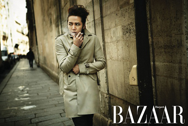 "Jang Geun Suk's Paris Trip for ""Bazaar"" Pictorial"