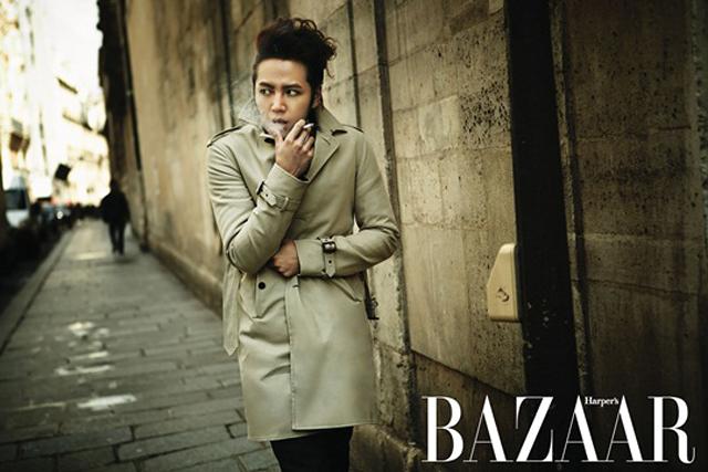 """Jang Geun Suk's Paris Trip for """"Bazaar"""" Pictorial"""