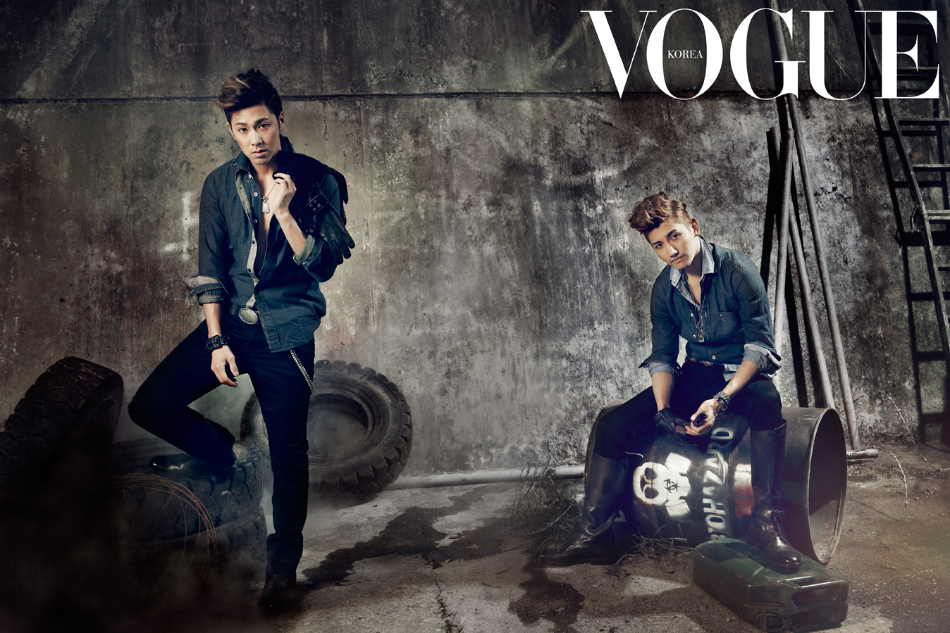 """DBSK Shows off Their Masculine Charm in """"Vogue Korea"""" & Talks About Comeback"""