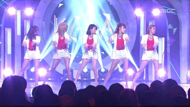 "Kara Has Their Goodbye Stage for ""Pandora"" on Music Core"
