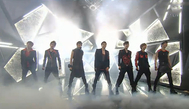 Rookie Boy Group 100% Makes Their Inkigayo Debut Performance