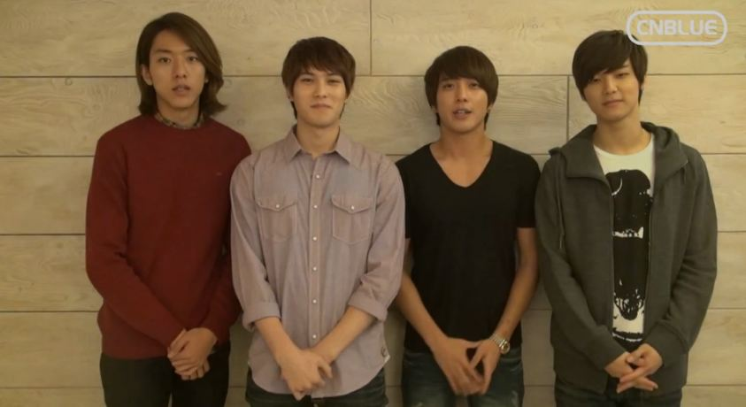 CNBLUE Greets Everyone a Happy Chuseok