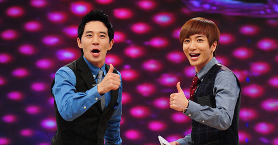 Boom and Super Junior's Lee Teuk Now Washboard Abs Certified