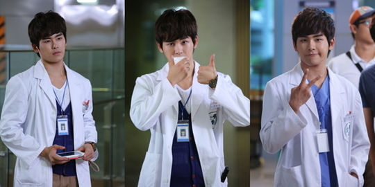 """Infinite's Hoya Transforms Into A Doctor for """"Answer Me 1997"""""""