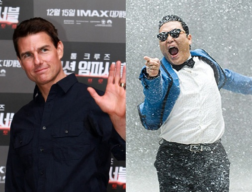 Tom Cruise Thinks PSY Would Make a Good Future Co-Star
