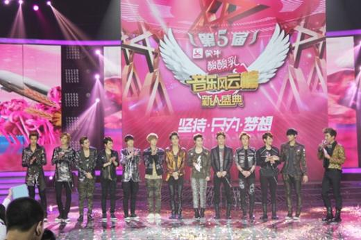 "EXO-M Is the ""Most Popular Group of the Year"" in China"