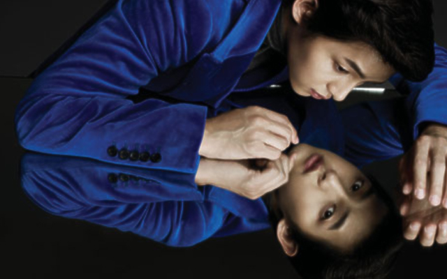 Song Joong Ki Shows Off Dual Charms for Harper's Bazaar