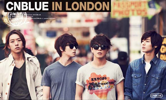 CN Blue Immobilizes Britain's Airport Proving Their Great Popularity