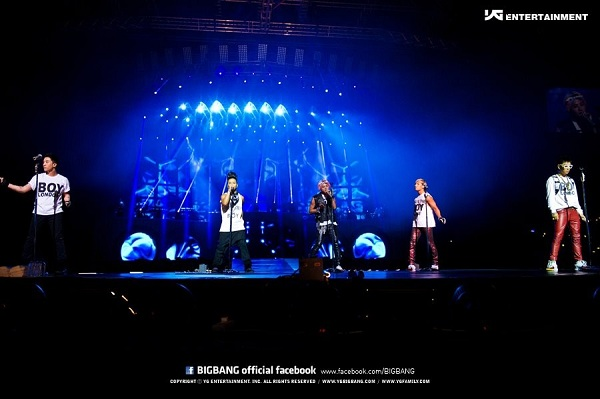 Big Bang's U.S. Concerts Sell Out in Less Than 2 hours