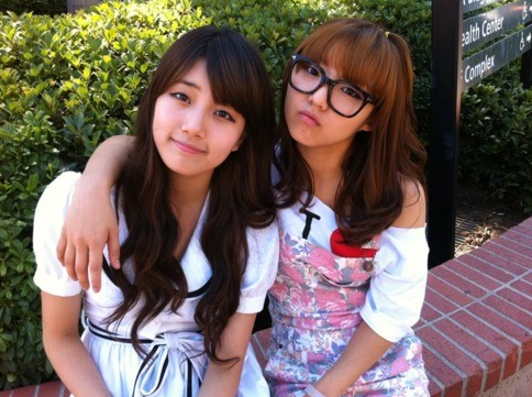 """miss A's Suzy and Min Show Off """"Thug"""" Aegyo on Twitter"""