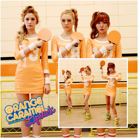 "Orange Caramel Release Another Comeback Teaser for First Full-length Album ""Lipstick"""
