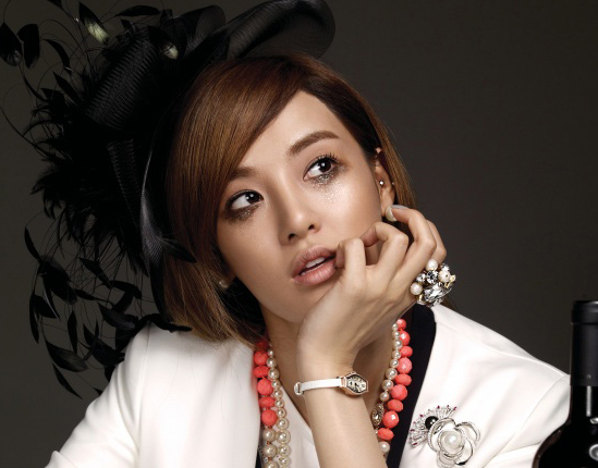 """After School's Joo Yeon Shows Off Four Makeup Looks for """"Vogue Girl"""""""