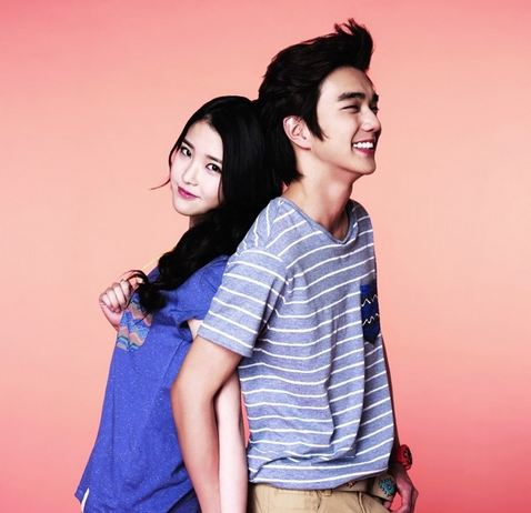 """""""Arang and the Magistrate"""" Actor Yoo Seung Ho and IU Pose as Fall Couple for G By Guess"""