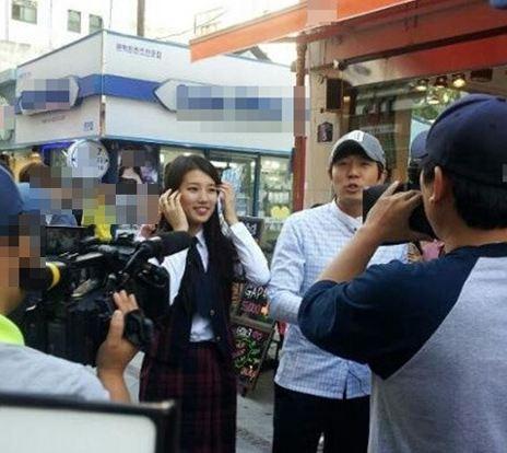 miss A member Suzy Charms as a School Girl in Gwangju