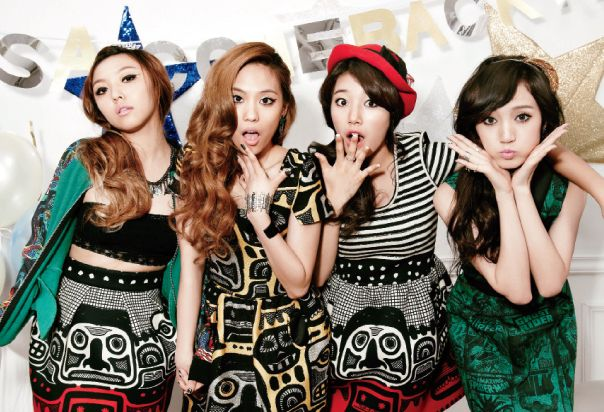 """miss A members Min, Fei, Suzy, and Jia Are Party Girls in """"Ceci"""""""