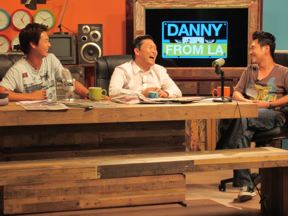 "On ""Danny From LA,"" Danny Im, Kevin Shea, and Psy Dance ""Gangnam Style""; Psy Talks Katy Perry's (Not)Kiss, Hyuna's Cuteness"