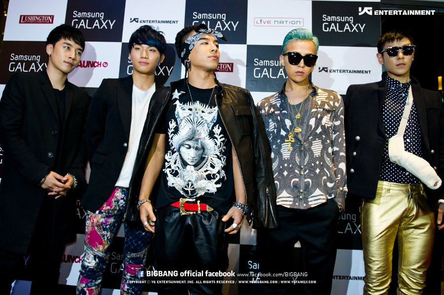 Big Bang Adds Two More Concert Dates to US Tour