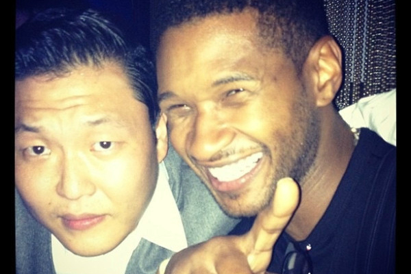 PSY and Usher: Love in a New York Club