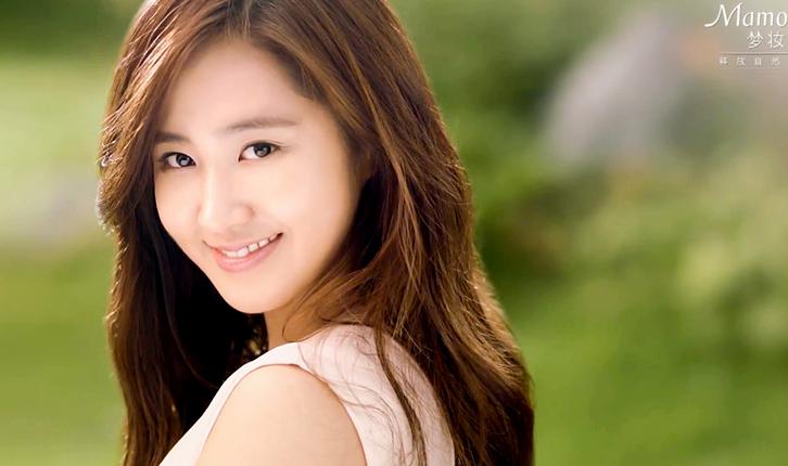 Girls' Generation's Yuri over Flowers