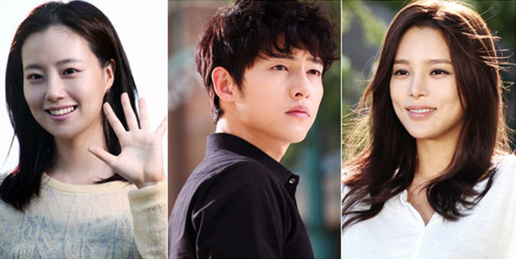"""Nice Guy's"" Moon Chae Won, Song Joong Ki, and Park Shi Yeon Express Thoughts on Upcoming Premiere"