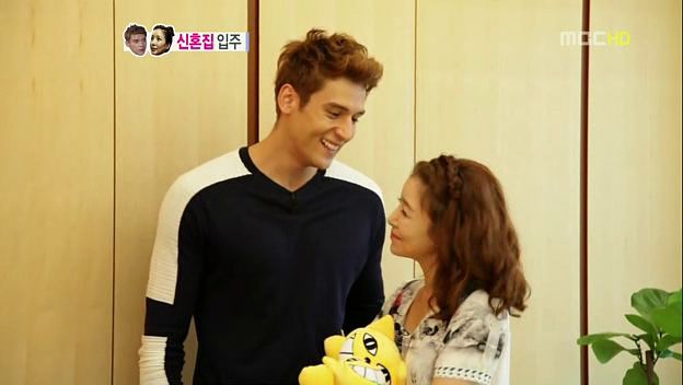 """We Got Married's"" Julien Kang and Yoon Se Ah Are a Visually Striking Couple"
