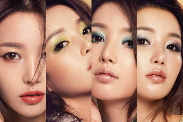 Nam Gyuri's Four Jewel Eye Make-Up Ideas for Fall