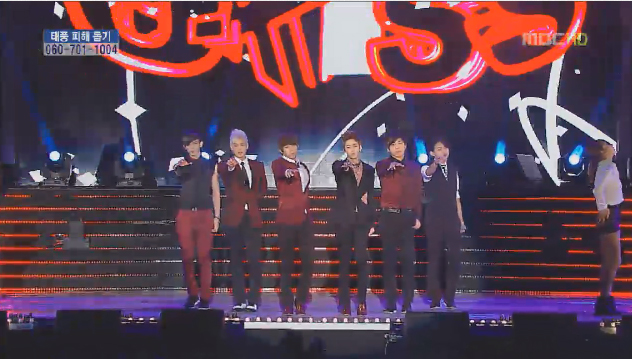 "U-KISS Makes Their ""Stop Girl"" Comeback Performance on Music Core"