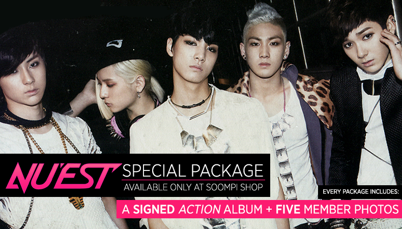 [Soompi Shop] NU'EST Signed CD + Exclusive Photos Package!
