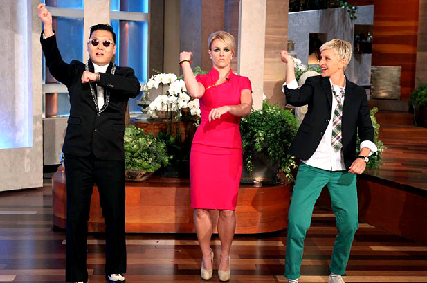 "The PSY Effect? ""The Ellen Show"" Records Personal High in Ratings!"