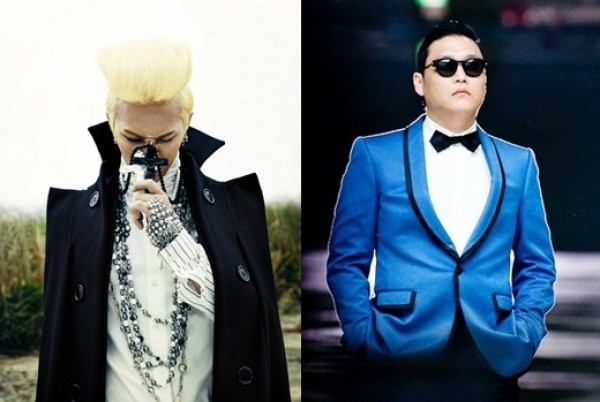 G-Dragon and Psy Appear on Billboard Charts Simultaneously