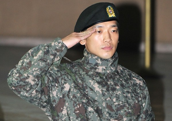 Rain Spotted Performing at a Military Event in Seoul
