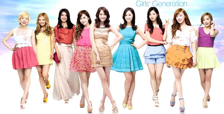 Girls' Generation: Battle of the Cosmetics CF