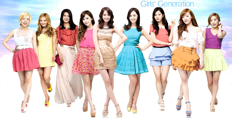 Girls' Generation: Battle of the Cosmetics CF