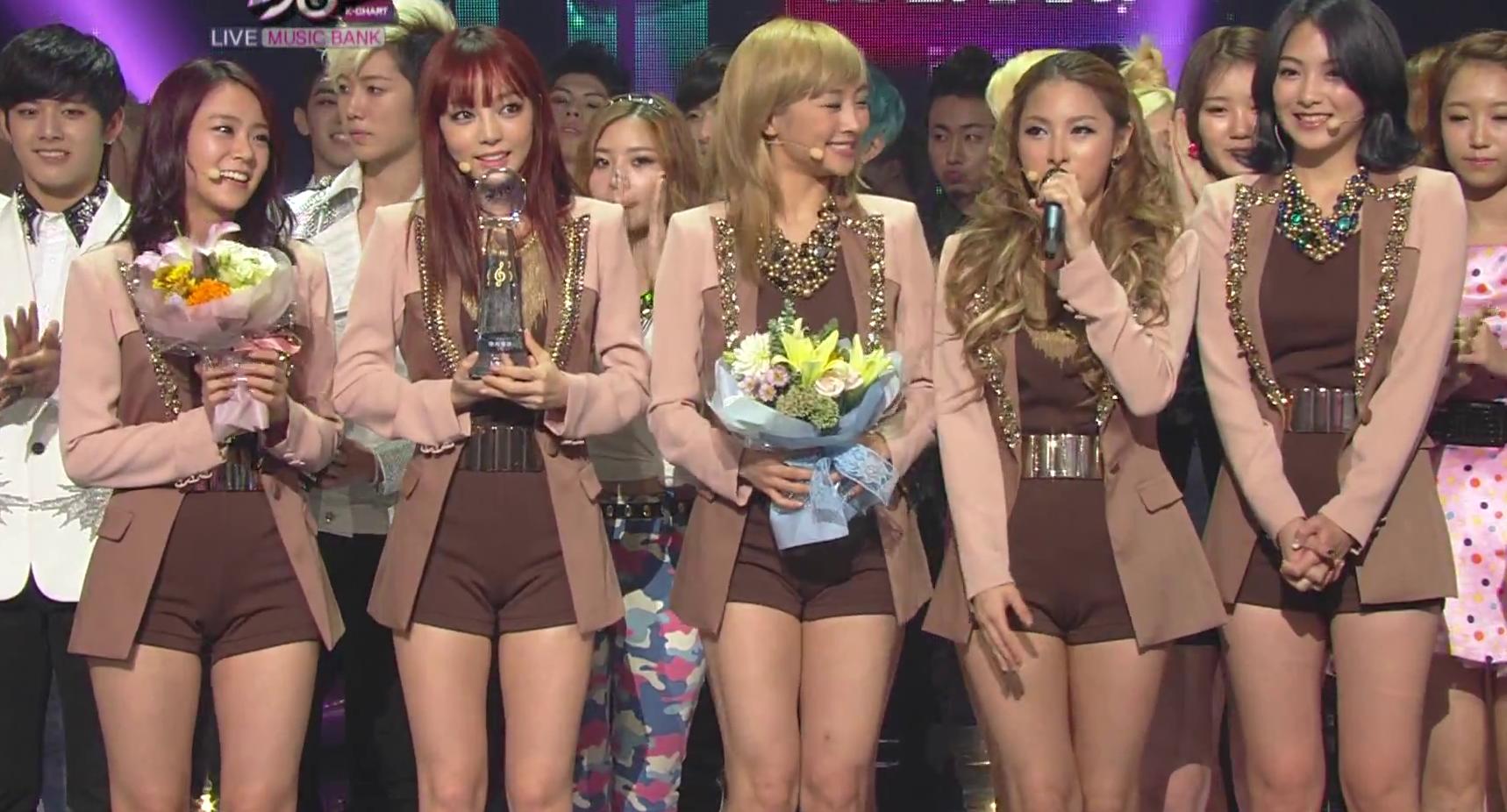 KBS Music Bank – 7 September, 2012