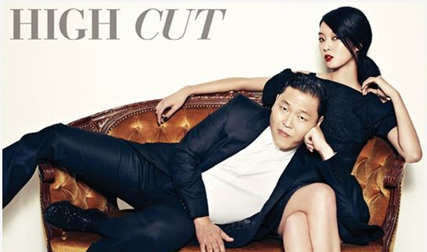 """""""Oppan Suit Style!"""" Psy Dresses Classy for """"High Cut"""""""