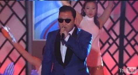 "Psy Performs ""Gangnam Style"" on ""Jimmy Kimmel Live"""