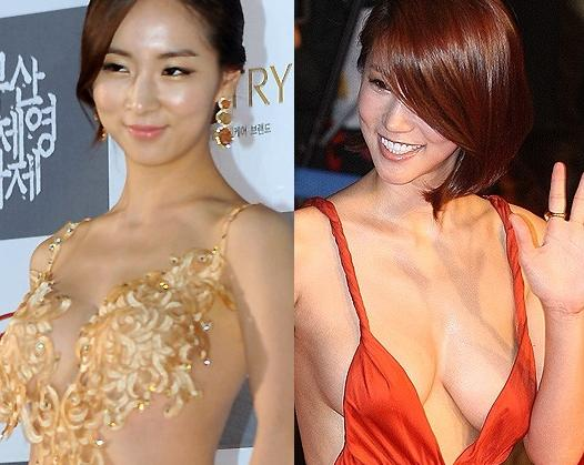 Is Actress Bae So Eun's Revealing Dress Going to Make Her the New Oh In Hye at the BIFF?