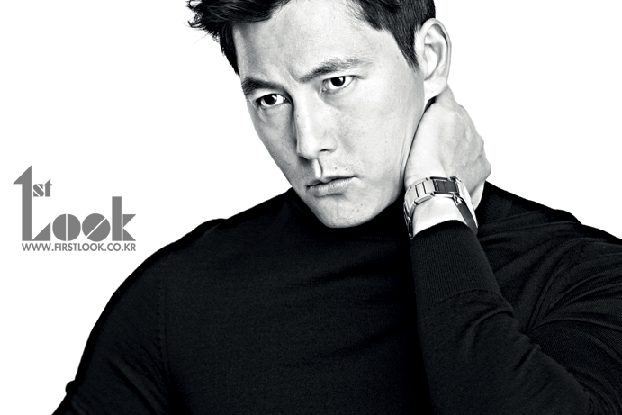 "Jung Woo Sung is a Gorgeous Fall Man in ""First Look"" Pictorial"