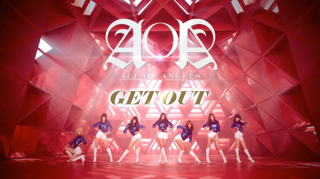 "AOA Reveals Second MV Teaser for ""Get Out"""