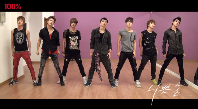 "100% Releases Dance Practice Video for ""Bad Boy"""