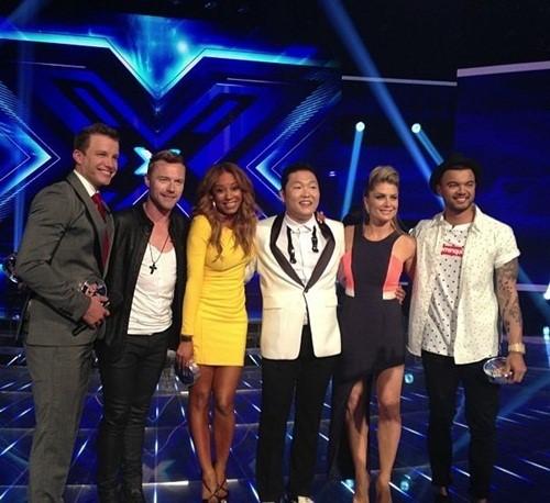 "Spice Girls' Mel B Dances to ""Gangnam Style"" with Psy in Australia"
