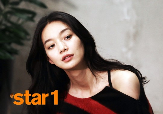 """Shin Min Ah Claims She Gained Weight in Pictorial for """"@star1"""""""