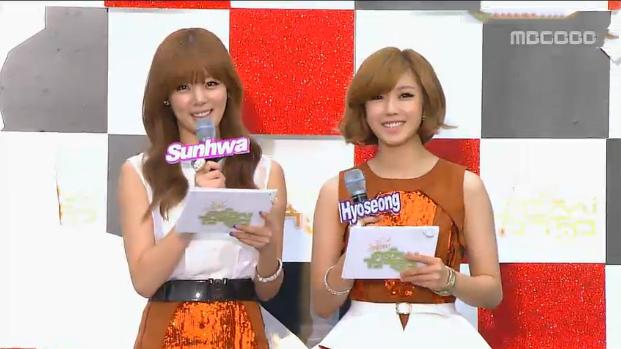 MBC Music Core 10.20.12
