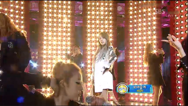 "Ailee Makes Her Inkigayo Comeback Performance with ""I Will Show You"""