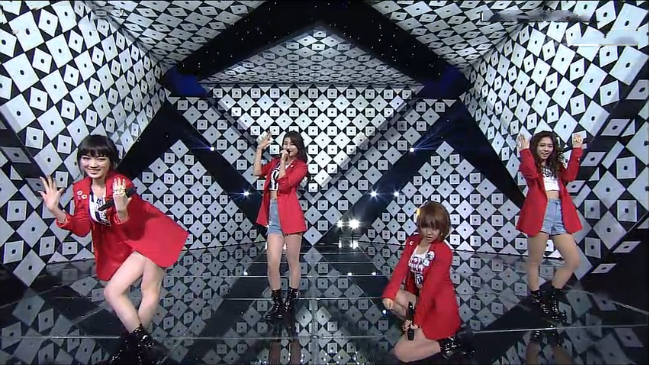 """miss A Makes Their Inkigayo Comeback With """"I Don't Need A Man"""""""
